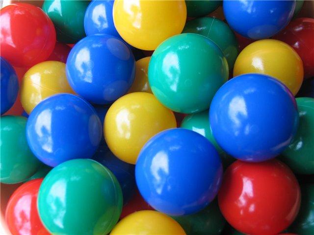 Шарики-мячики Bony (Бони) для игровых центров и сухих бассейнов артLI 700A.