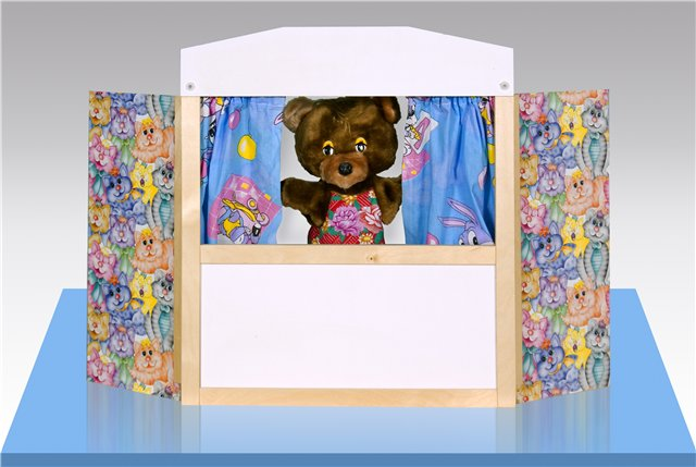 Настольная ширма для кукольного театра своими руками 95