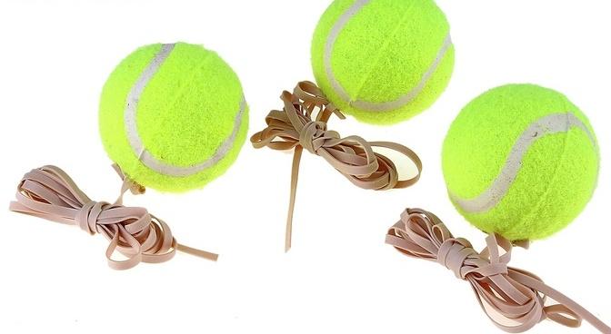 Теннисный шарик своими руками 358
